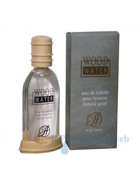 A de gli Amati WOOD Water eau de toilette spray pour homme 50ml