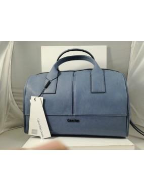 Borsa Bauletto Grande Calvin Klein - Blu