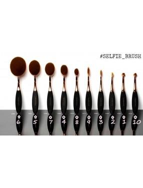 EMANUELA BIFFOLI - Selfie Brush Set 10 pennelli trucco
