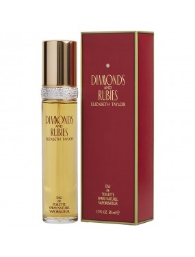 ELIZABETH TAYLOR - Diamonds and Rubies Eau de Toilette 50 ml vapo