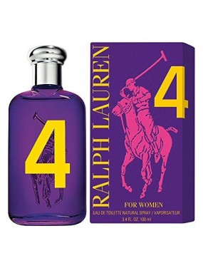 RALPH LAUREN - THE BIG PONY PURPLE 4 - For Women Eau de Toilette 100 ml