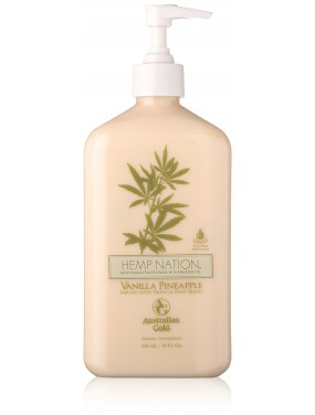 Australian Gold HEMP NATION - VANILLA PINEAPPLE Moisturizing Tan Extender 535 ml