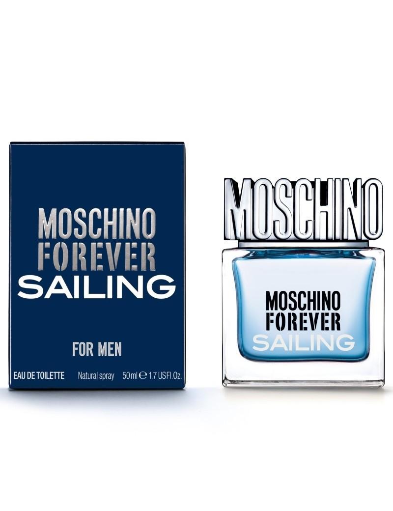 MOSCHINO - FOREVER SAILING FOR MEN - EAU DE TOILETTE NATURAL SPRAY 50 ML