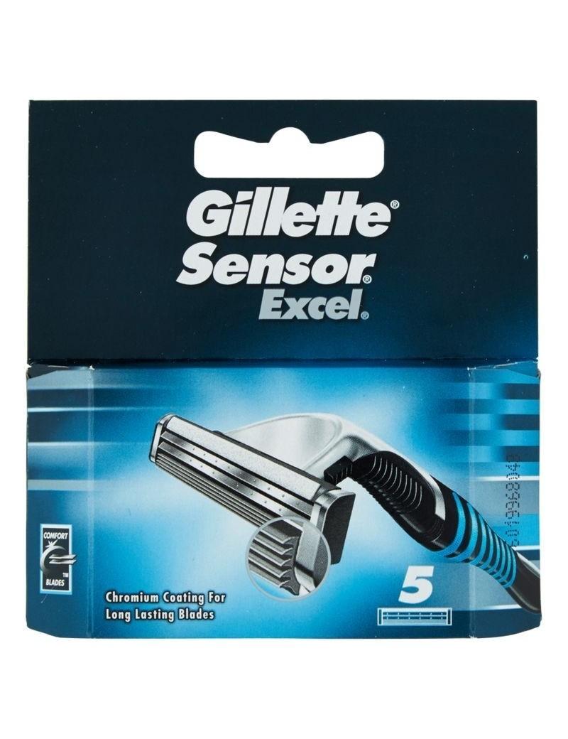 GILLETTE Sensor Excel Lamette di Ricambio