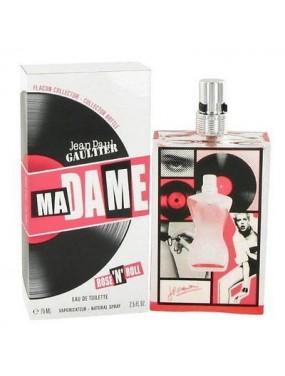 Jean Paul Gaultier Ma Dame Rose`n Roll Eau de Toilette 75ml spray - donna