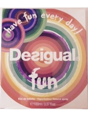 DESIGUAL - FUN Eau de Toilette 50 ML SPRAY
