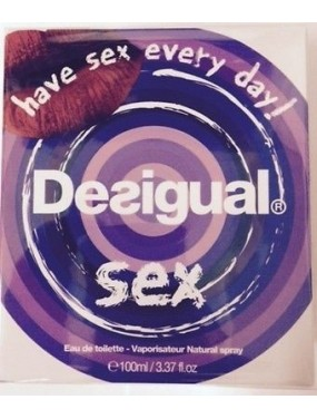 DESIGUAL - SEX Eau de Toilette 50 ML SPRAY