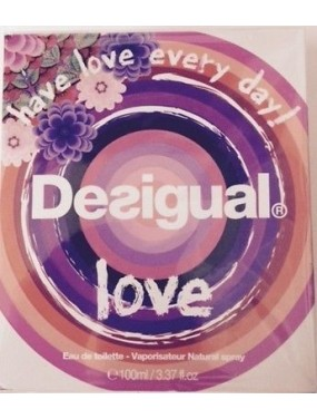 DESIGUAL - LOVE Eau de Toilette 50 ML SPRAY
