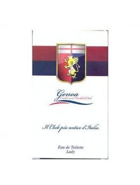 Squadra Calcio GENOA Eau de Toilette Lady 100ml - donna