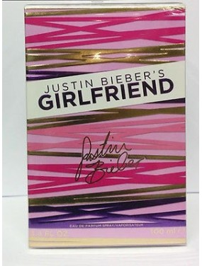 JUSTIN BIEBER'S GIRLFRIEND - eau de parfum - 100ML