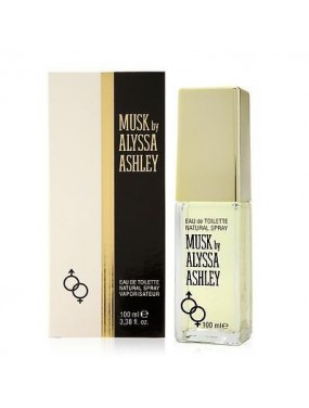 MUSK BY ALYSSA ASHLEY DONNA eau de toilette NATURAL SPRAY - 100 ml