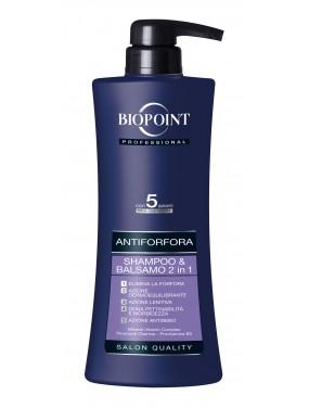 BIOPOINT - Professional Shampoo + Balsamo Antiforfora 400ml