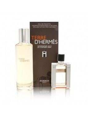 Hermes Terre d'Hermes Eau de Toilette Refillable Natural spray - travel spray 133gr
