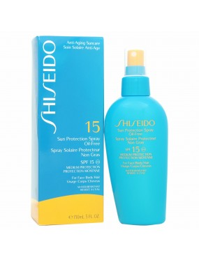 Shiseido Sun Protection Spray Oil Free SPF 15 Medium protection 150 ml