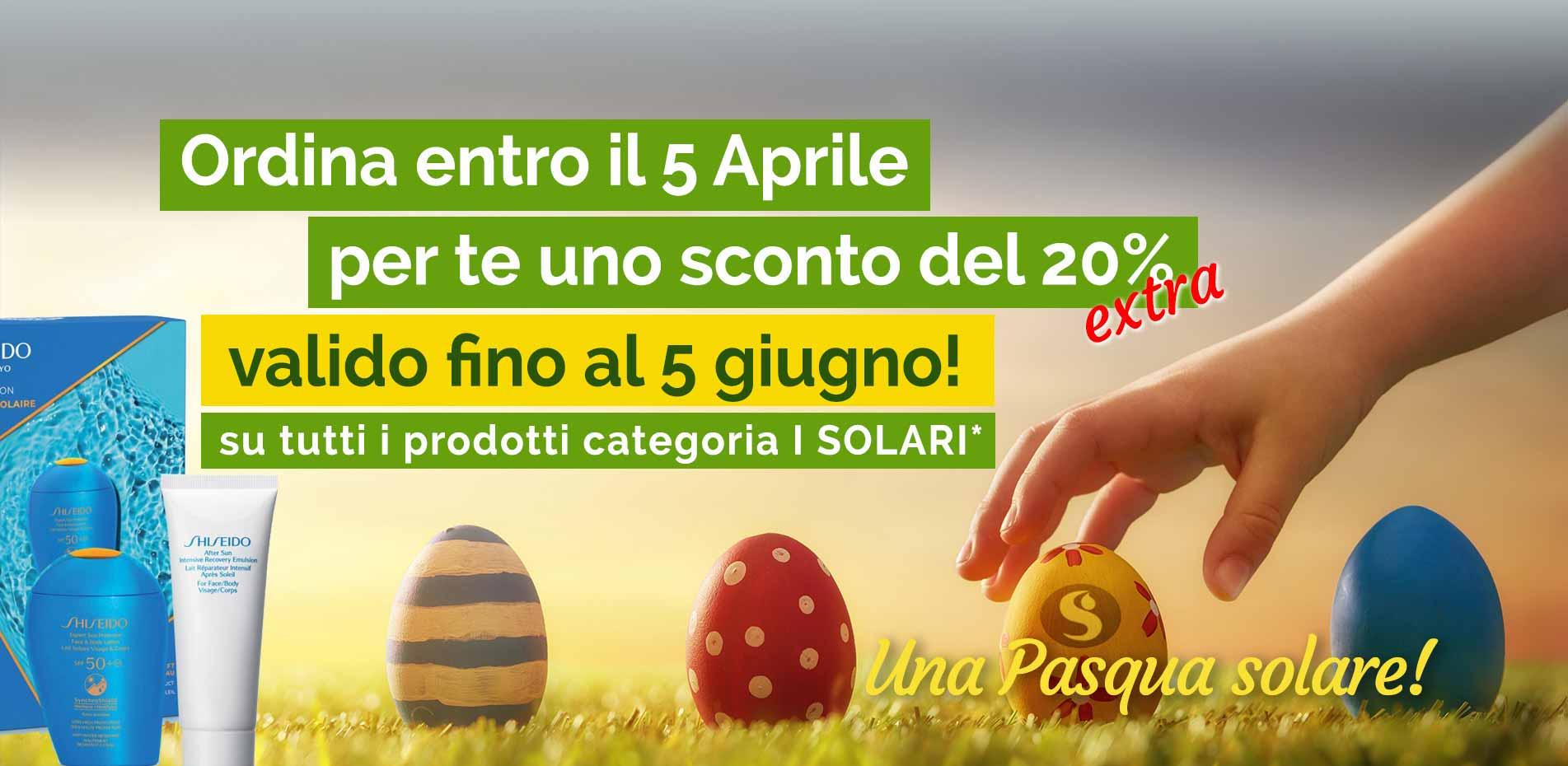 Promo Una Pasqua Solare!