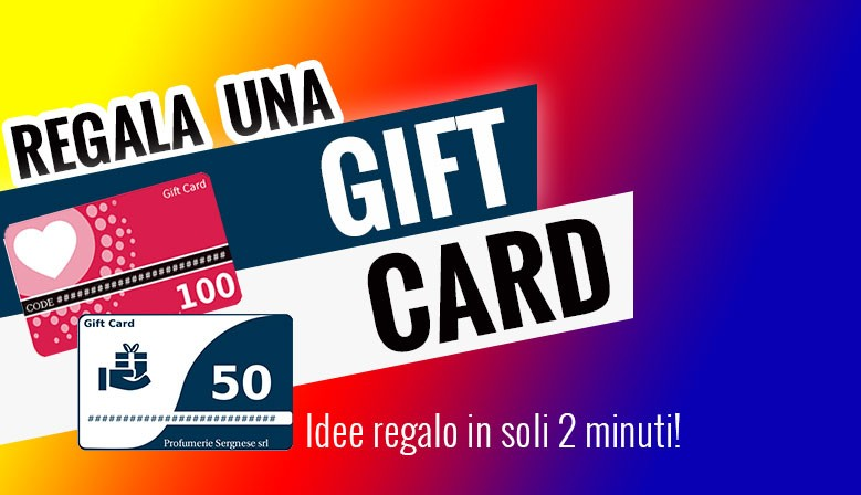 Regala una Gift Card!