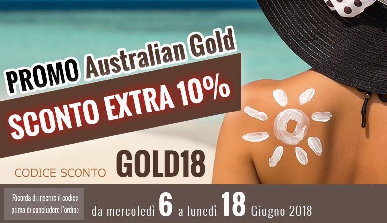 Sconto 10% prodotti Australian Gold